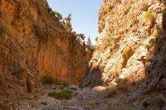 At the gorge of Aradaina